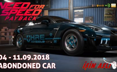 Need for Speed™ Payback Abondoned Car Location 04 – 11.09.2018 – Mitko Vasilev Nissan GT-R